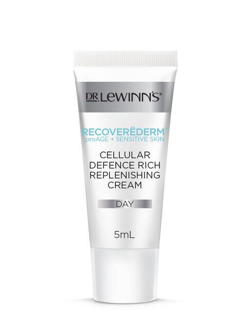 Recoverëderm Cellular Defence Rich Replenishing Cream Sample 5mL